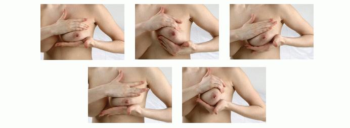 массаж и сцеживание груди